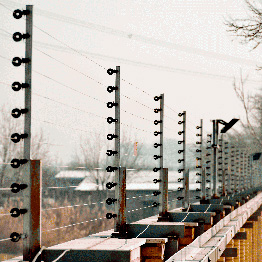 فنس الکتریکی صنعتی - کارخانه خوشگوار تهران